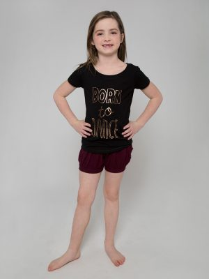"T-Shirt: Upscale Tee ""Born to Dance"" by Sugar and Bruno Apparel"
