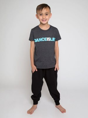 "Boyfriend Tee ""Dance Is Life"" by Sugar and Bruno Apparel"