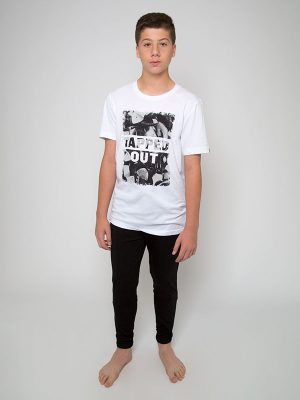 "Boyfriend Tee ""Tapped Out"" by Sugar and Bruno Apparel"