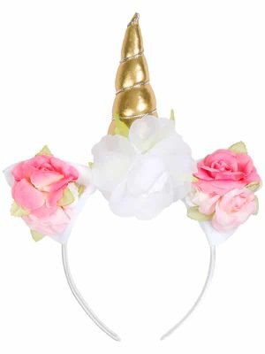 "Unicorn Headband: ""Magical Unicorn Headband"" by Sugar and Bruno Apparel in Indianapolis, IN"