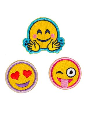"Emoji Patches: ""Emoji Patch Set"" by Sugar and Bruno and SoDanca"