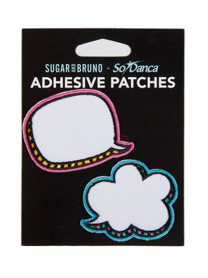 "DIY Patches: ""Talk Bubble Patch Set"" by Sugar and Bruno and SoDanca"