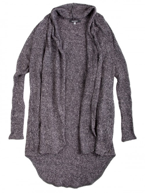 Charcoal Sweater: The Stella Sweater in Charcoal by Sugar and Bruno Apparel in Indianapolis, IN