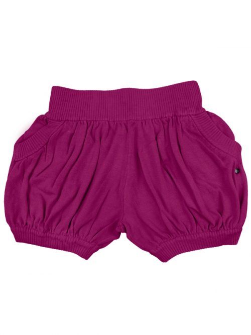 Pink Sweater Shorts: Bubbles in Raspberry by Sugar and Bruno Apparel in Indianapolis, IN