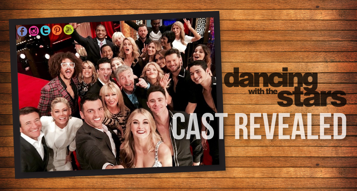 'Dancing With the Stars' 2015: Season 20 Cast Revealed
