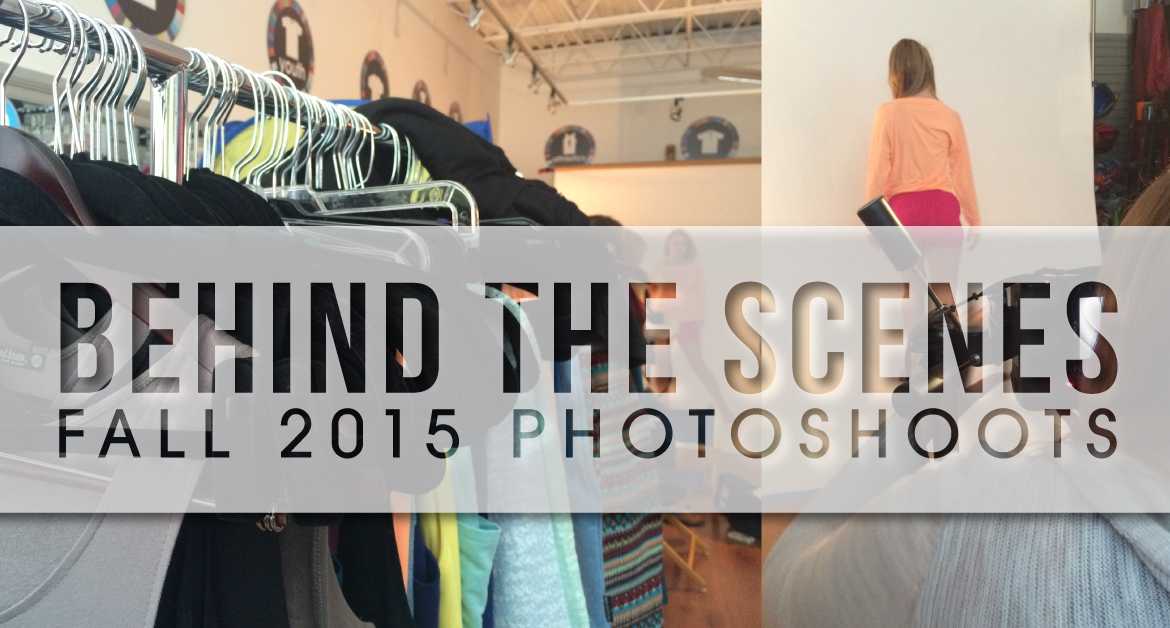 Behind The Scenes – Fall 2015 Photoshoots
