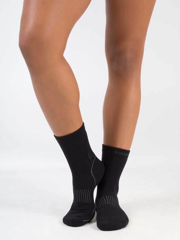 Black Performance Socks: Black Performance Socks by Sugar and Bruno in Indianapolis, IN