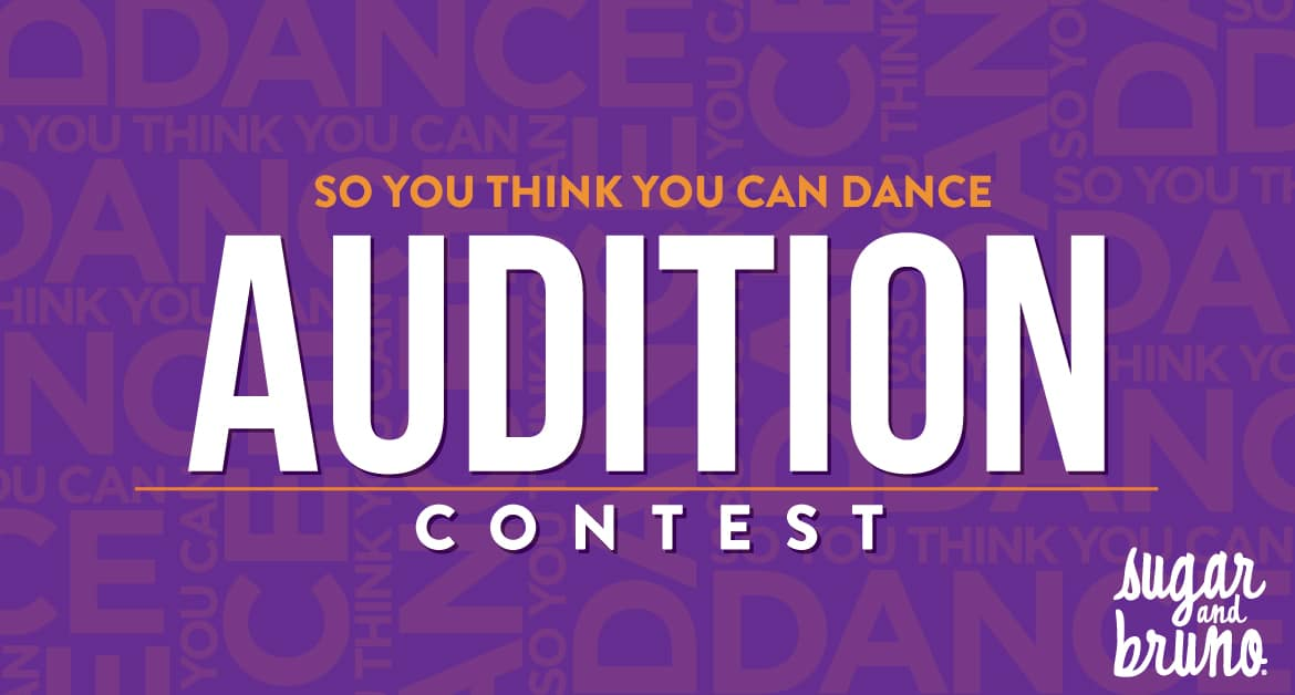 SYTYCD Audition Contest!