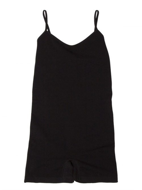 Black Shorts Romper: Casual Fancy Under G Romper by Gina Pero for Sugar and Bruno Apparel in Indianapolis, IN