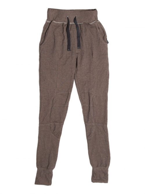 Brown Jogger Pants: Shadow Brown Jogger Pants by Sugar and Bruno Apparel in Indianapolis, IN