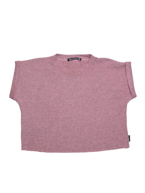 Pink Crop Top: Boss Crop in Pink by Sugar and Bruno Apparel in Indianapolis, IN