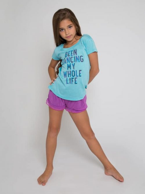 """T-Shirt: Upscale Tee """"Been Dancing My Whole Life"""" by Sugar and Bruno Apparel"""