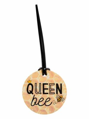 "Luggage Tag ""Queen Bee"" by Sugar and Bruno Apparel"