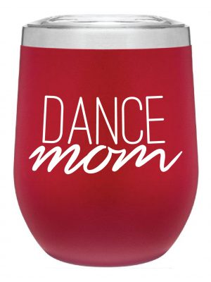 Dance Mom Tumbler in Red by Sugar and Bruno Apparel