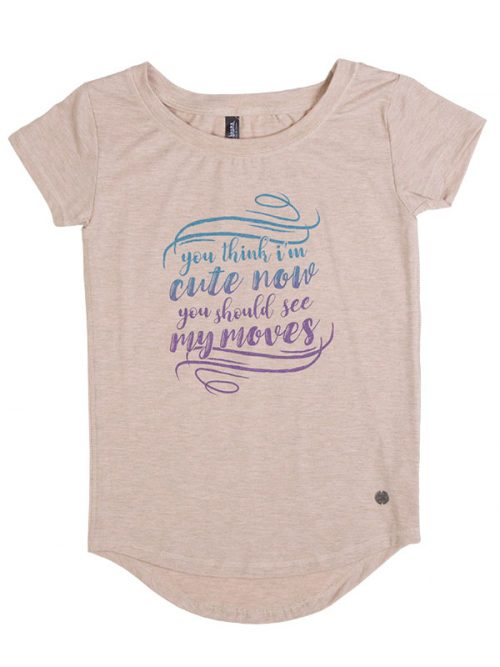 """Dance Tee: """"You Think I'm Cute Now, You should see my Moves"""" Upscale Tee by Sugar and Bruno"""