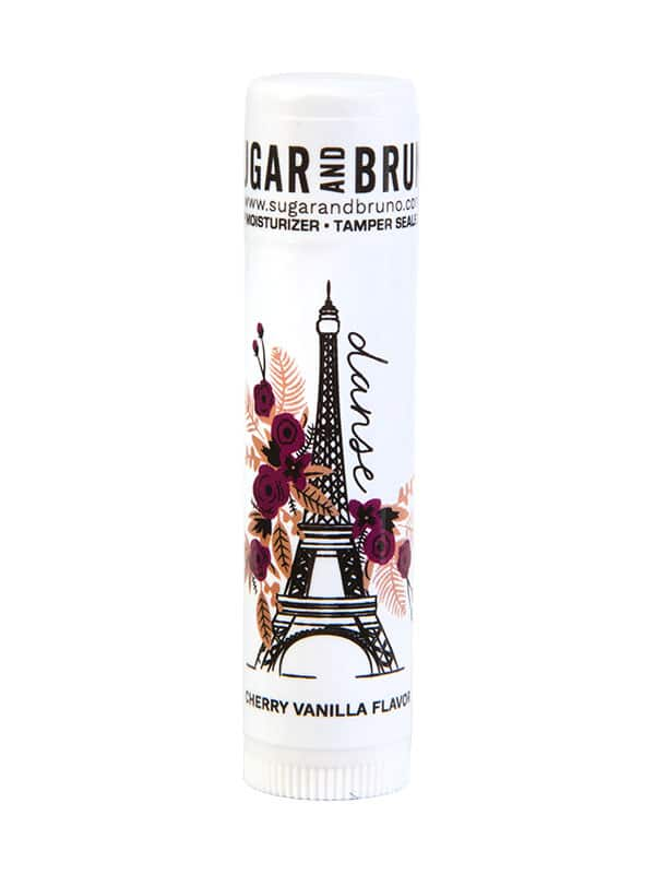 """Cherry Lip Balm: """"Paris"""" by Sugar and Bruno Apparel in Indianapolis, IN"""