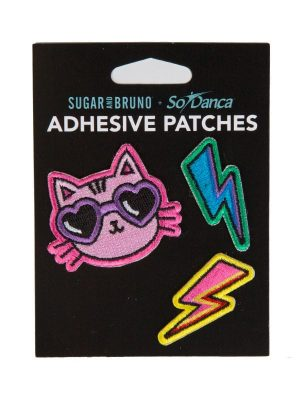 "Cat Patches: ""Cool Cat Patch Set"" by Sugar and Bruno and SoDanca"