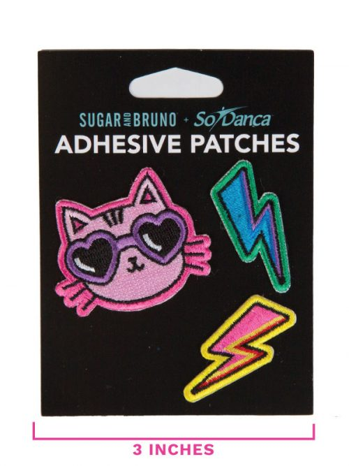 """Cat Patches: """"Cool Cat Patch Set"""" by Sugar and Bruno and SoDanca"""