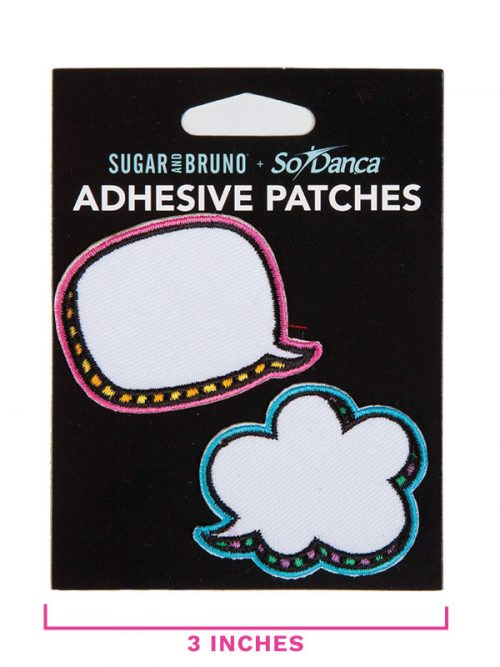 """DIY Patches: """"Talk Bubble Patch Set"""" by Sugar and Bruno and SoDanca"""