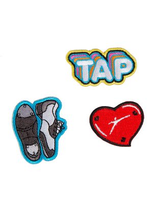"Tap Dance Patches: ""Tap Patch Set"" by Sugar and Bruno and SoDanca"