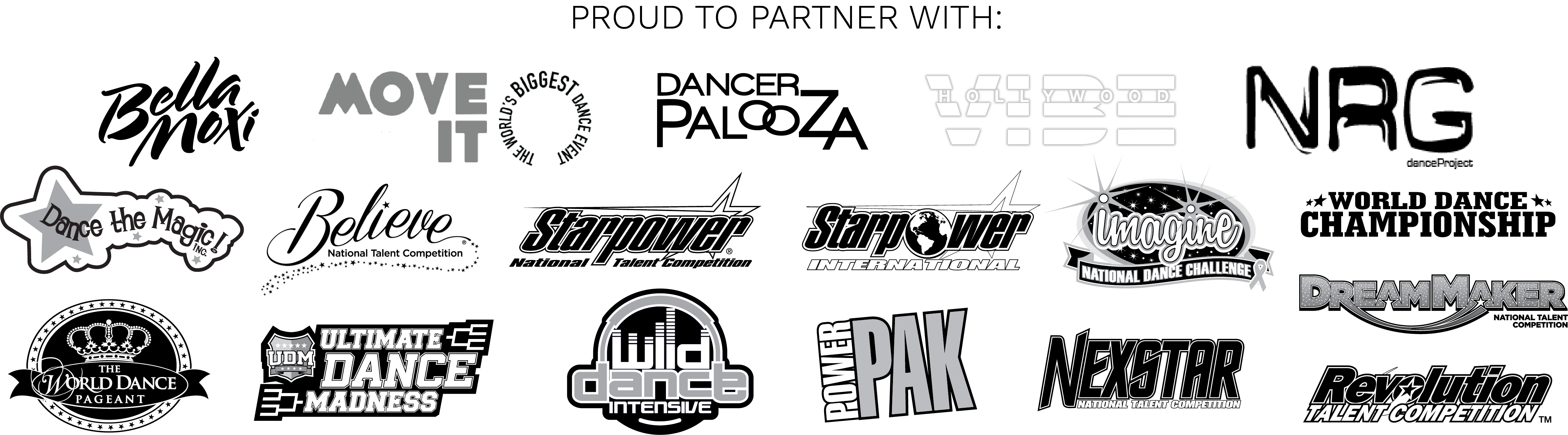 PROUD TO PARTNER WITH THE FOLLOWING SPONSORS